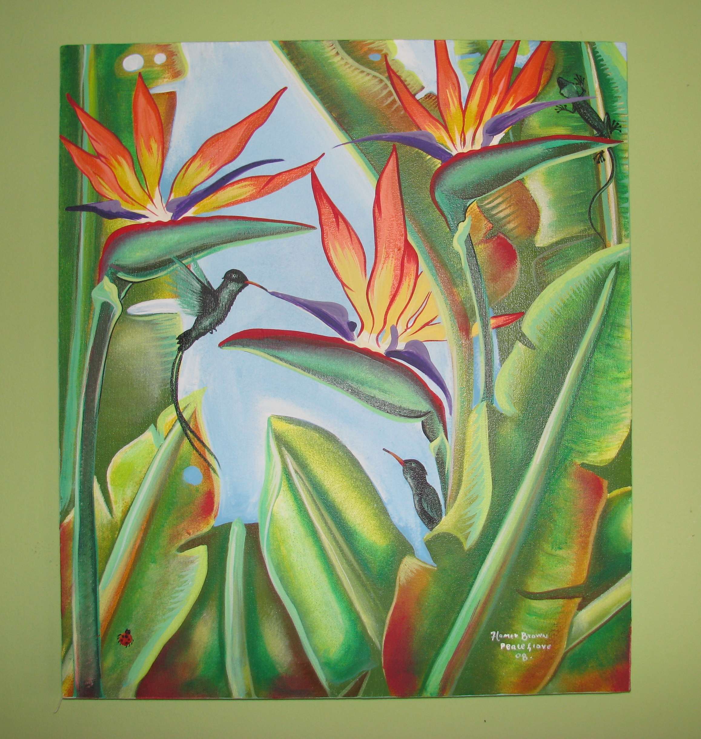 Ocho Rios Jamaica Art Gallery - Art For Sale At The Blue House